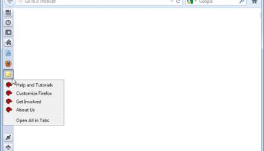 Firefox vertical toolbar indir
