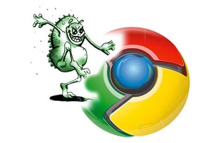 Google Chrome virüsünden kurtulma