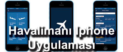 Iphone havalimanı uygulaması indir