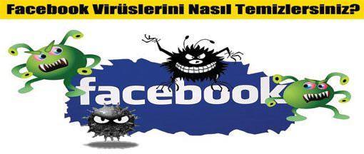 Facebook virüsü nasıl temizlenir