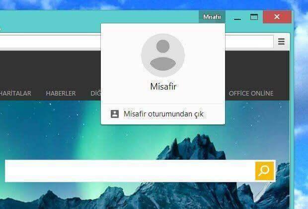 Google Chrome'un yeni kullanıcı menüsünü kapatın!
