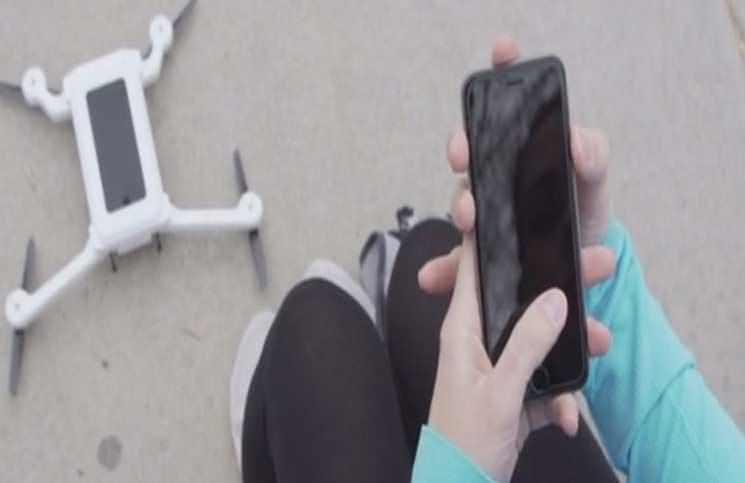 Akıllı Telefonunuzu Drone'a Dönüştürün