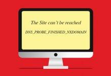 DNS_PROBE_FINISHED_NXDOMAIN Hatası Çözümü