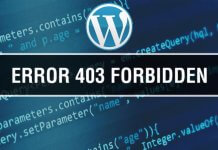 Wordpress 403 Forbidden Hatası Çözümü