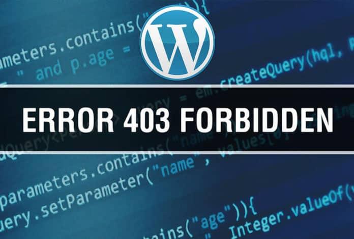 Wordpress 403 Forbidden Hatası Çözümü